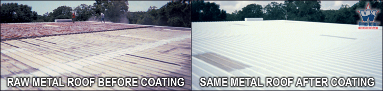 Metal Roof Coatings in Louisiana